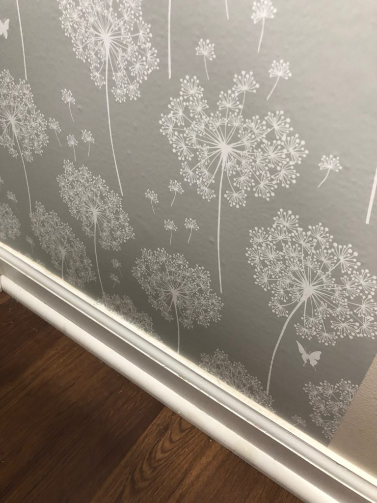 How to Install Peel and Stick Wallpaper
